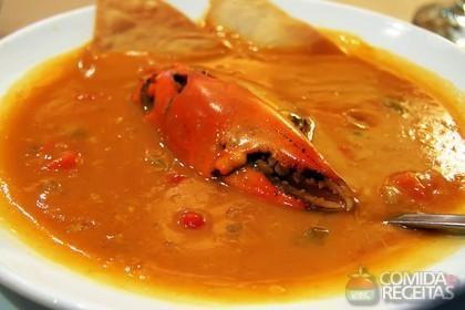 Receita de Sopa de lagosta fácil