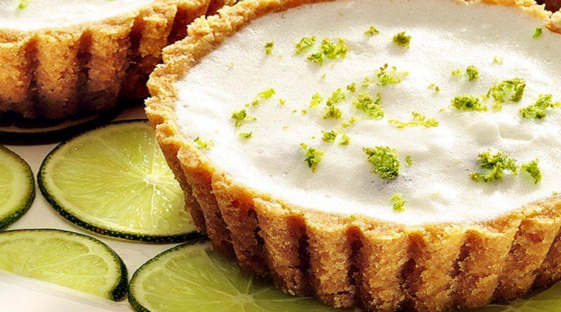 Tortinha de limão fit