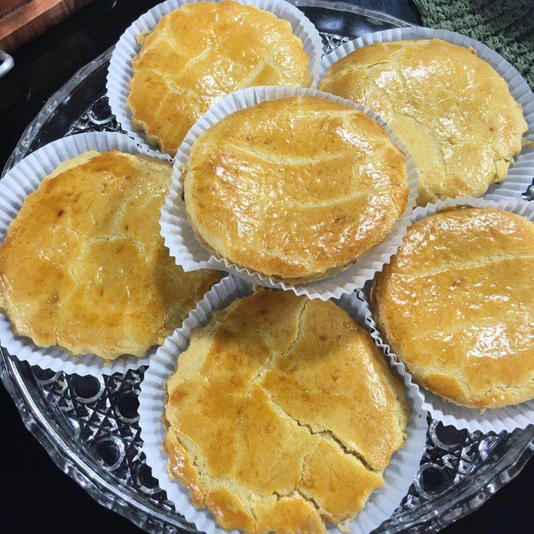 Empadinha de batata doce simples e fácil de fazer