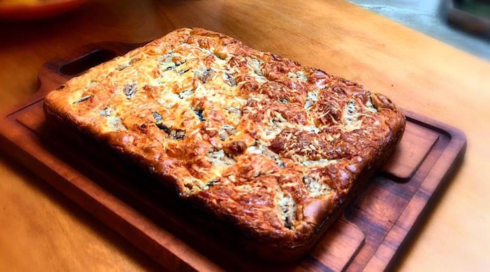 Torta de sardinha de liquidificador do Chef Ravioli muito fácil