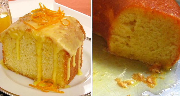 Como fazer bolo da laranja úmido que fica uma delícia