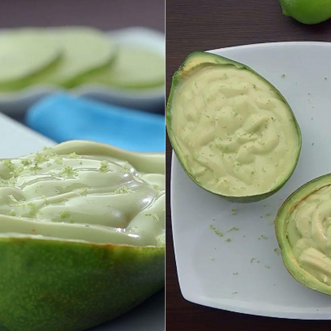 Receita de mousse de abacate que é refrescante e muito cremosa