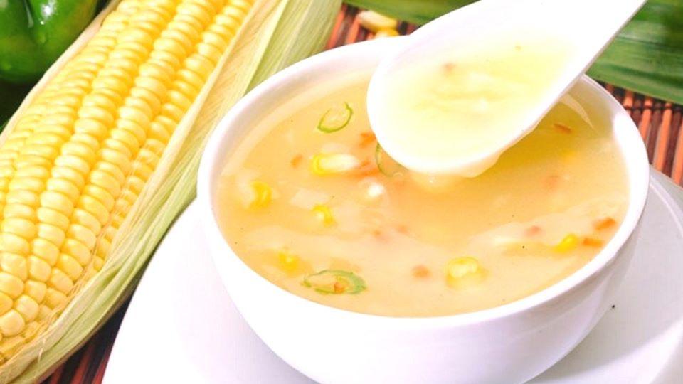 Caldo de milho verde cremoso fácil