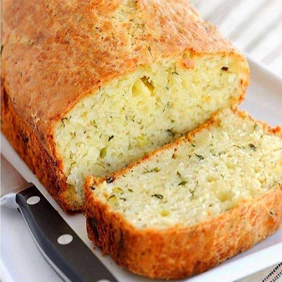 Pão de cebola fit caseiro perfeito e muito fácil de preparar
