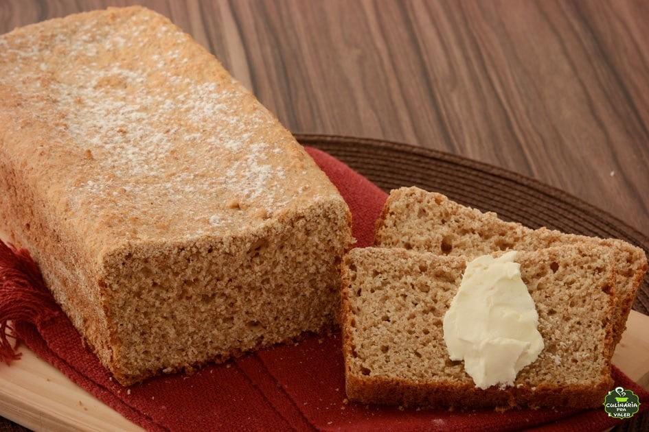 Pão de forma integral caseiro pratico pratico de fazer e muito gostoso