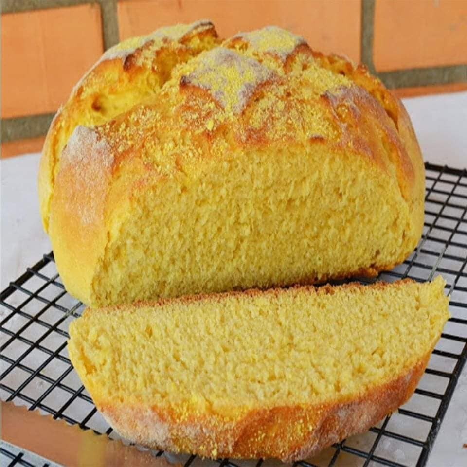 Pão de milho com fubá sensacional