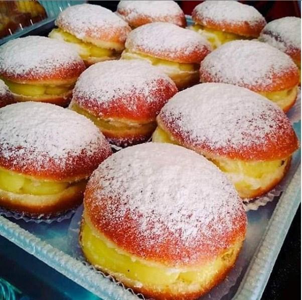 Sonho de padaria caseira