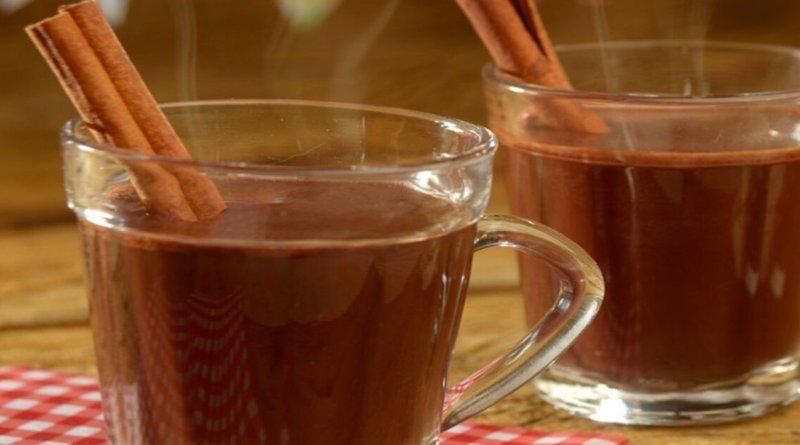 Quentão de chocolate super cremoso e delicioso