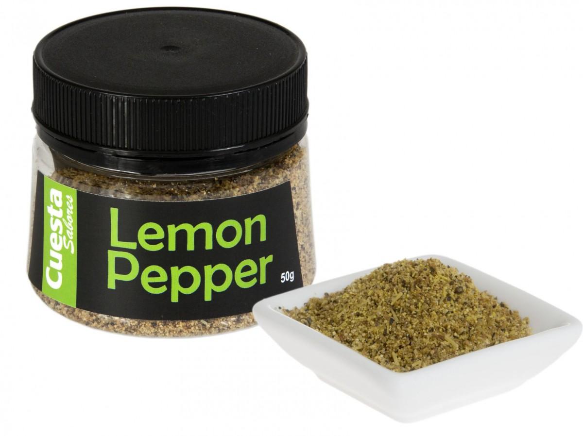 Tempero lemon pepper caseiro de arrasar com apenas 3 ingredientes